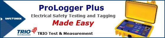 ProLogger Plus Portable Appliance Tester